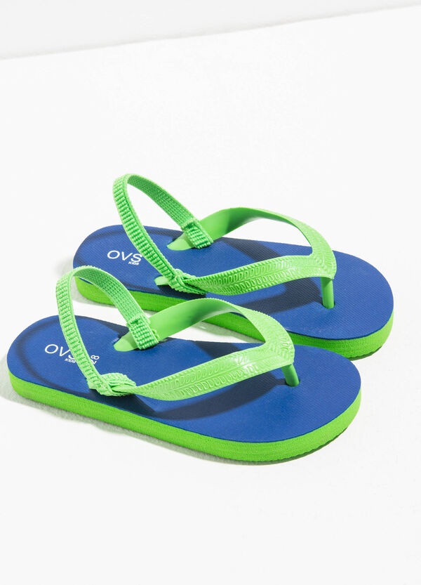 Flip flops with elasticated strap | OVS