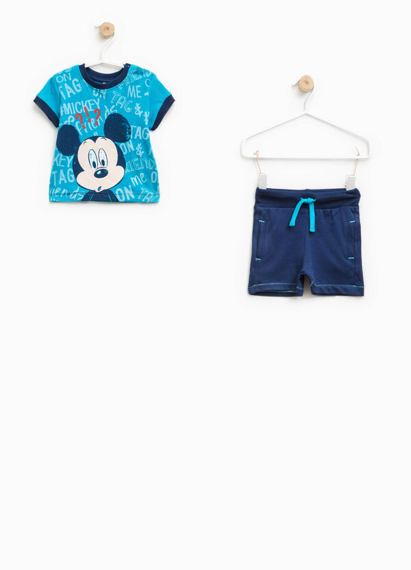 Outfit with maxi Mickey Mouse print | OVS
