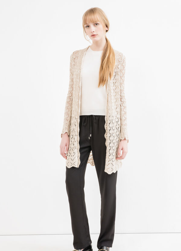 Pantaloni vita elasticata con coulisse | OVS