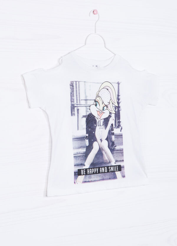 T-shirt in cotone stampa Lola Bunny | OVS