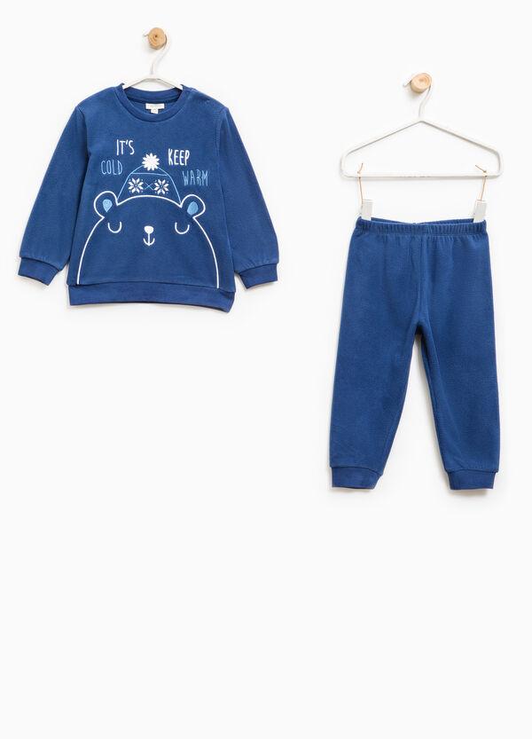 Embroidered fleece pyjamas | OVS