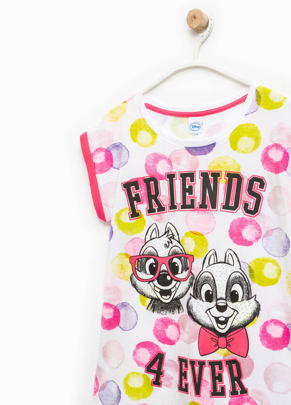 Patterned T-shirt with Chip 'n' Dale print | OVS