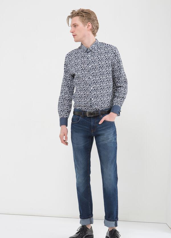 Camicia floreale puro cotone | OVS