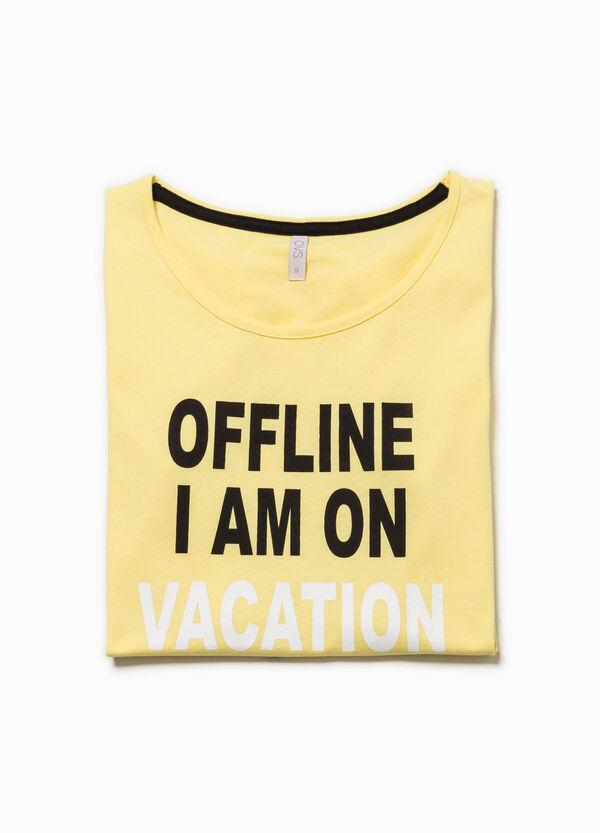 Camiseta de pijama de manga corta | OVS