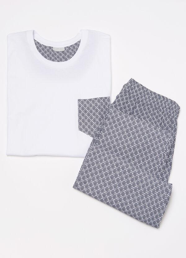 100% cotton pyjamas with pocket | OVS