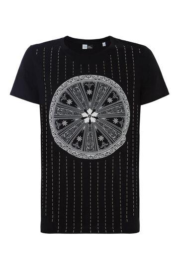 T-shirt stampa rilievo OVS Arts of Italy