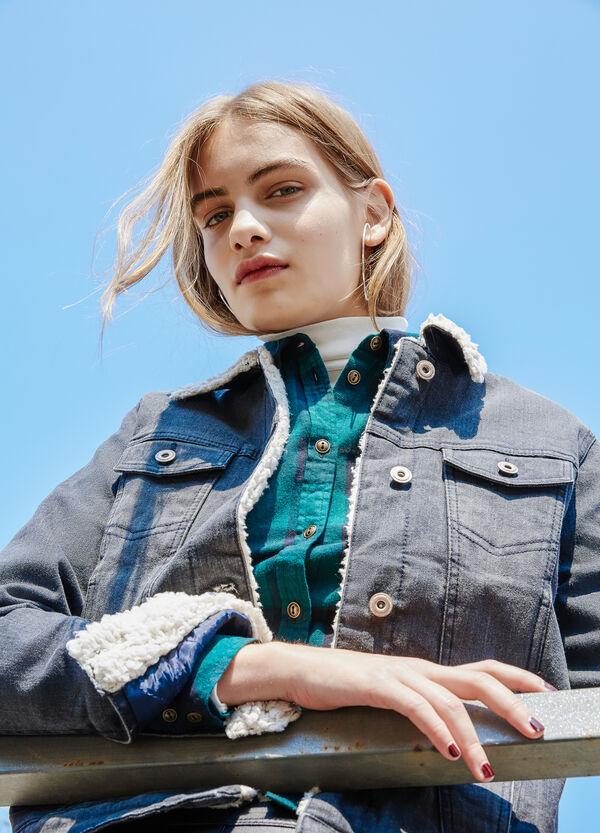 Stretch denim jacket with pockets | OVS