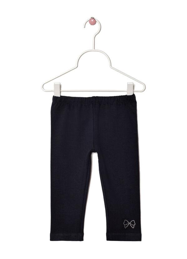 Pantalone tuta stretch con strass | OVS