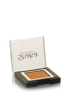 Compact eyeshadow with metal effect, Golden Yellow, hi-res