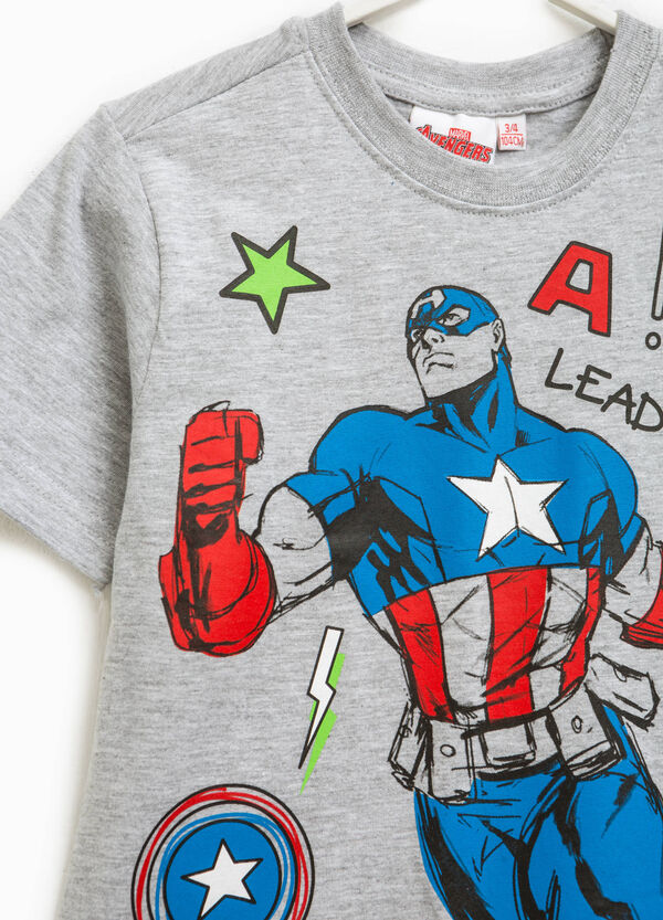 T-shirt with Captain America print | OVS