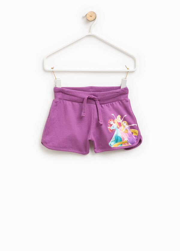 Shorts cotone stampa The Princess | OVS