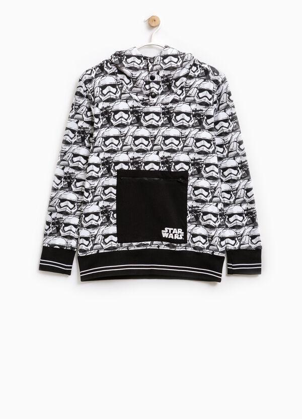 Sweatshirt with Star Wars pattern and pocket   OVS
