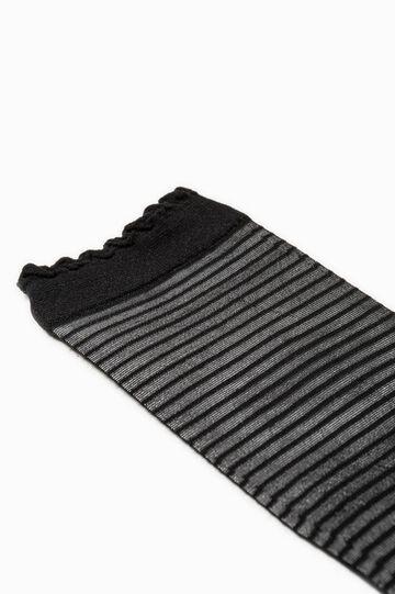 Striped stretch pop socks
