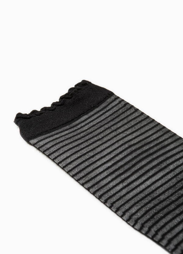 Striped stretch pop socks | OVS