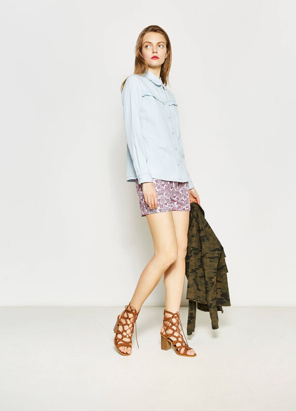 Shorts with all-over print | OVS