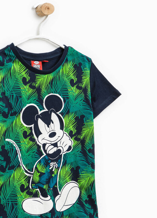T-shirt with Mickey Mouse maxi print | OVS