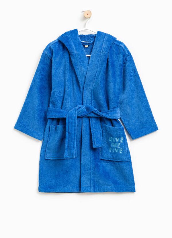 100% cotton embroidered bathrobe | OVS