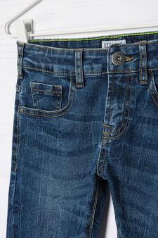 Jeans stretch straight fit, Blu, hi-res