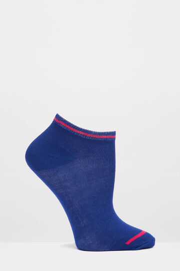 Set cinque paia calze stretch, Nero, hi-res