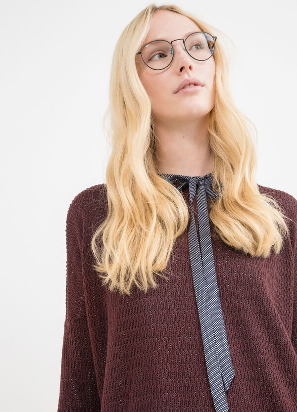 Pullover with three-quarter sleeves   OVS
