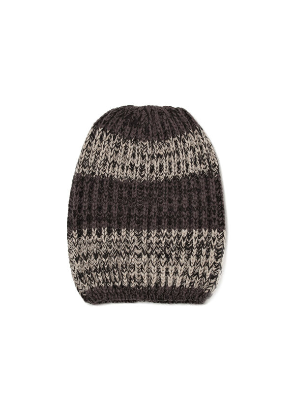 Beanie cap with band in contrasting colour | OVS