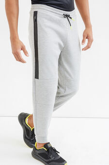 Pantaloni tuta OVS Active Sport Training, Grigio, hi-res