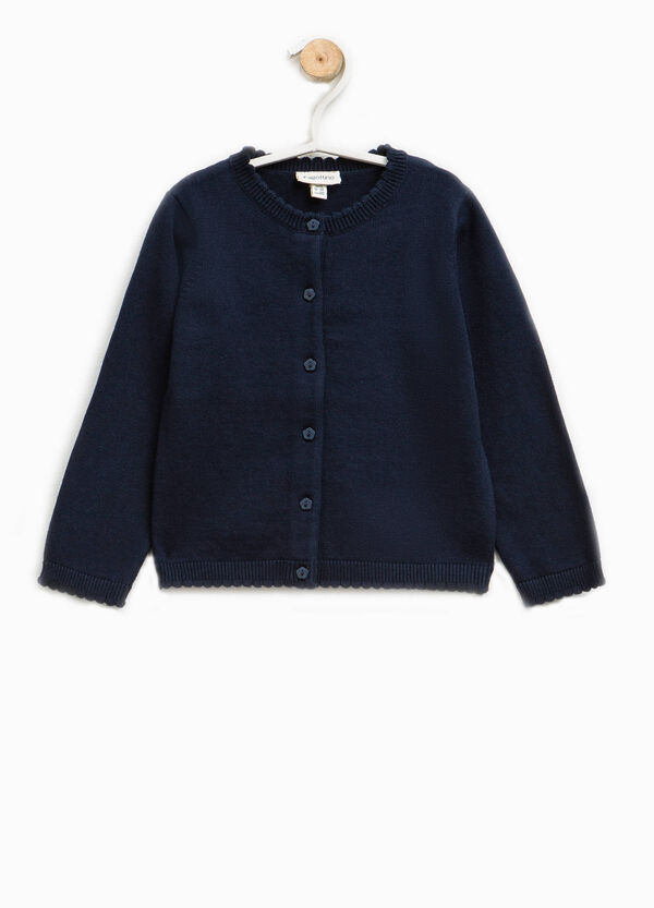 Knitted cardigan in 100% cotton | OVS