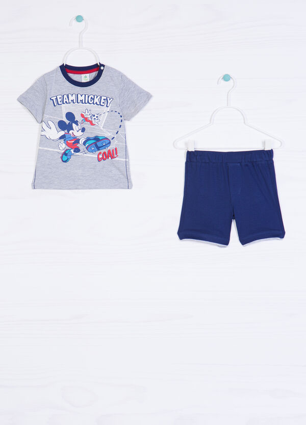 Mickey Mouse cotton outfit | OVS