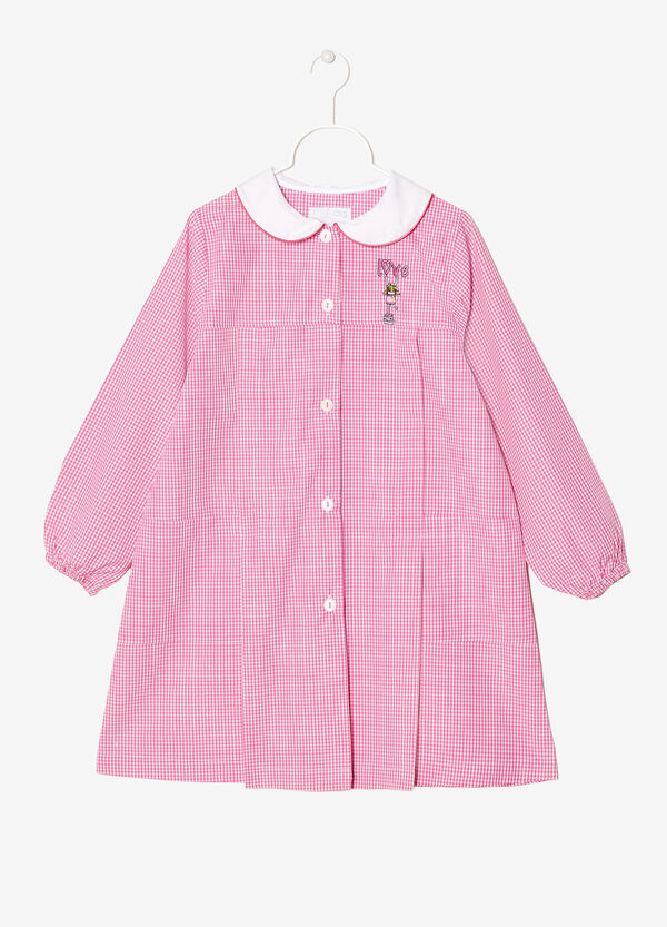 Embroidered primary school smock | OVS