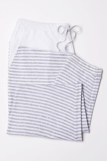 Stretch cotton pyjama trousers