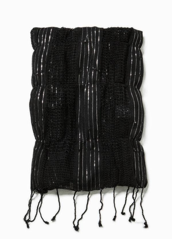 Bufanda calada con lúrex | OVS