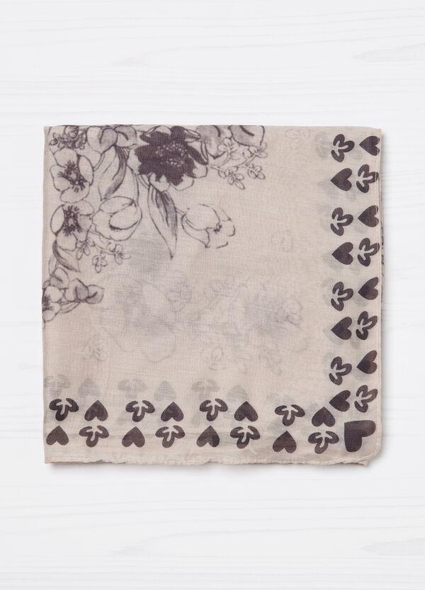 Printed lightweight scarf | OVS