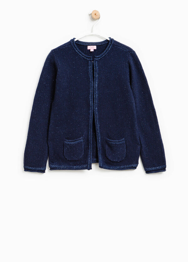 Knitted glitter cardigan | OVS