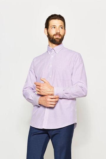 Camisa formal regular fit de rayas