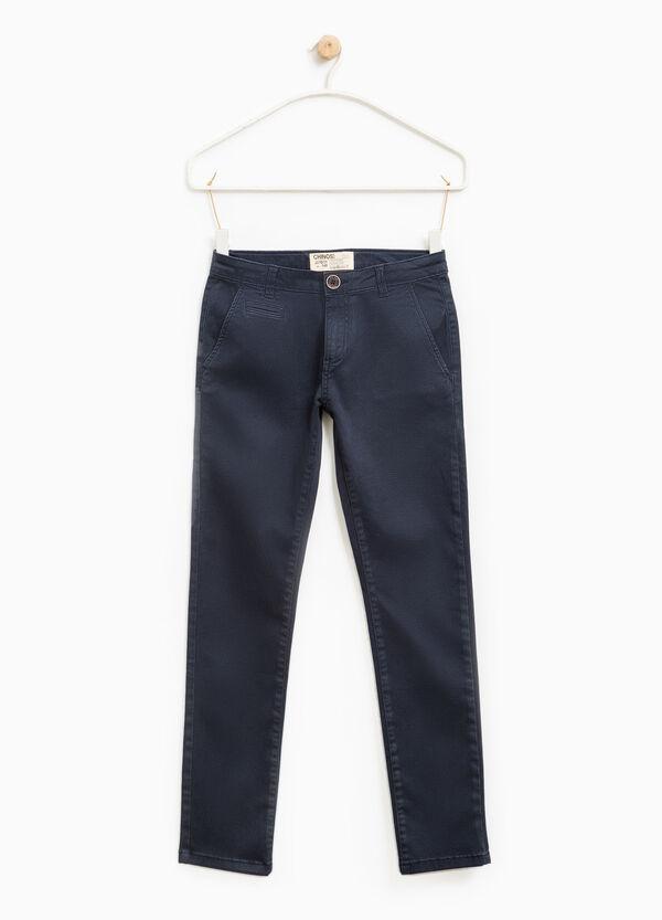 Pantaloni chino stretch stampati | OVS