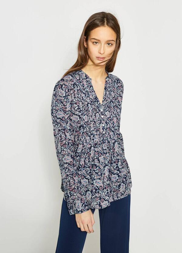 Blusa plisada con pinzas | OVS