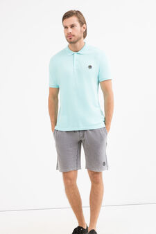 100% cotton polo shirt by Maui and Sons, Light Blue, hi-res