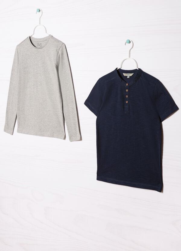 Completo due t-shirt puro cotone | OVS