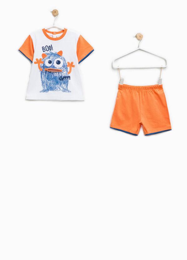 100% Biocotton pyjamas with print | OVS