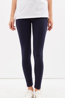 Leggings sportivi stretch, Blu navy, hi-res