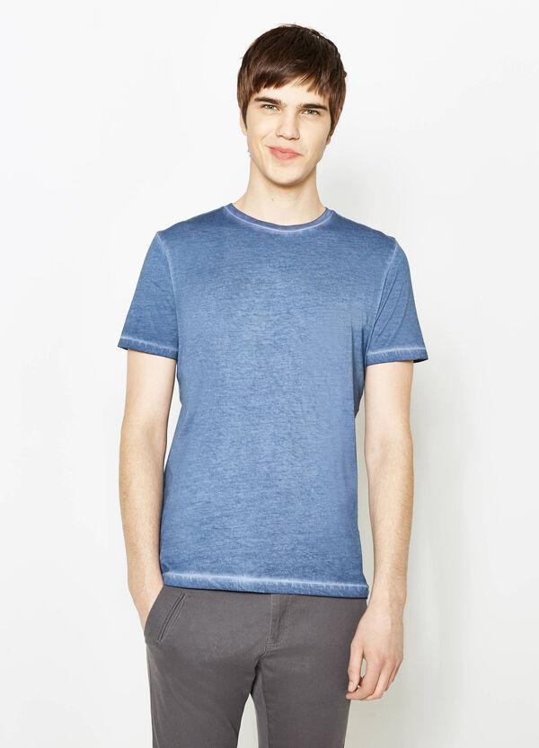 T-shirt cotone cuciture effetto delavato | OVS