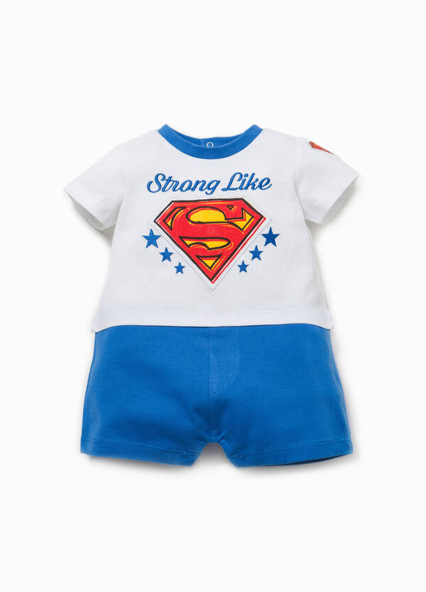 Romper suit with Superman print | OVS