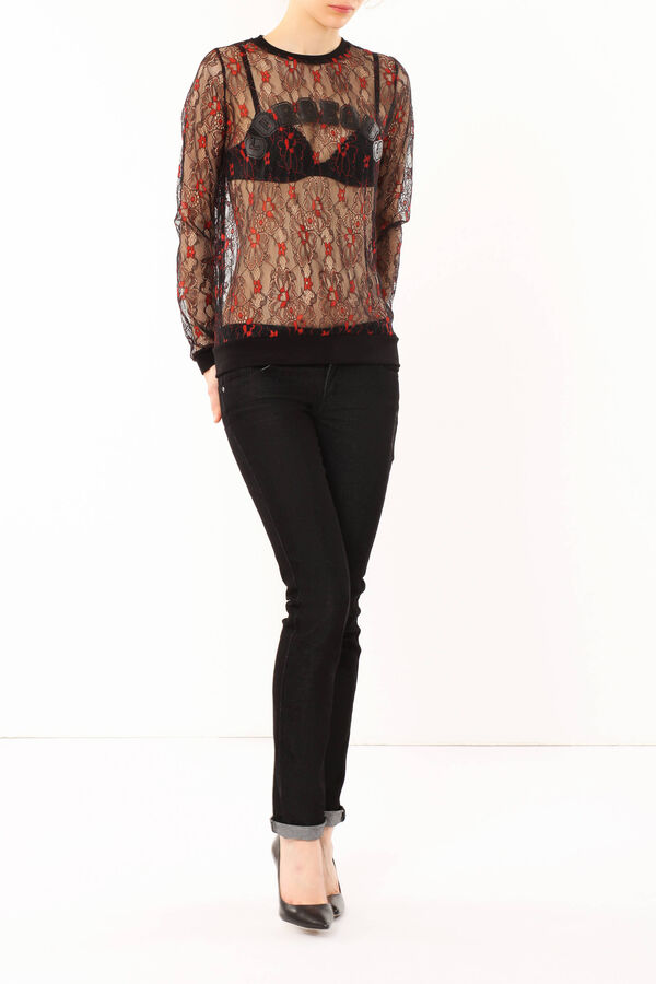 T-shirt in pizzo | OVS