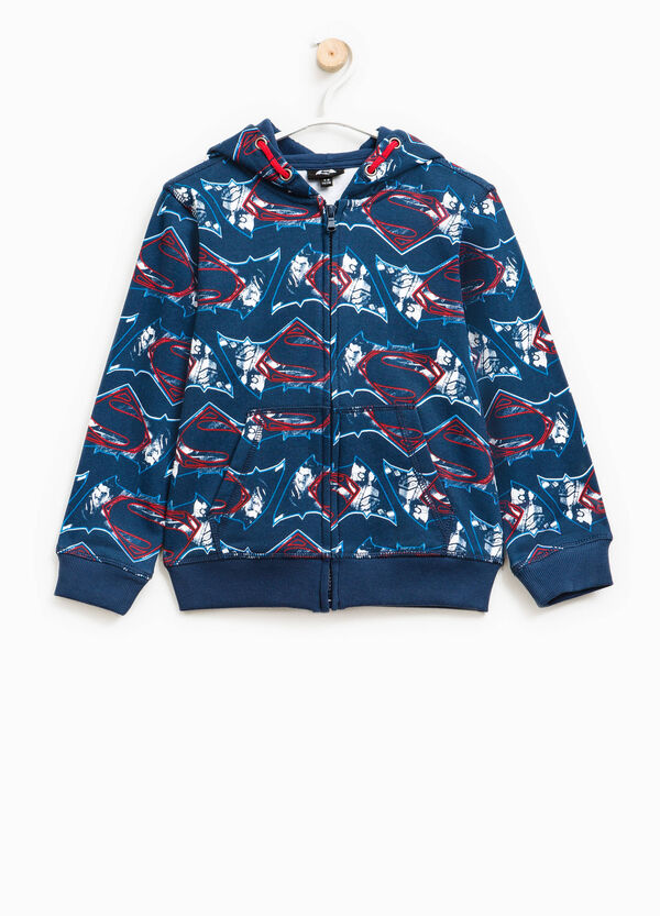 Batman and Superman pattern sweatshirt | OVS