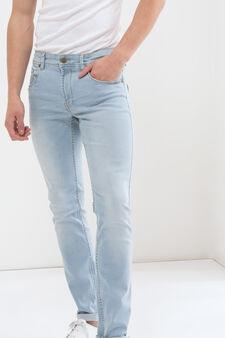 Jeans slim fit stretch, Lavaggio chiaro, hi-res