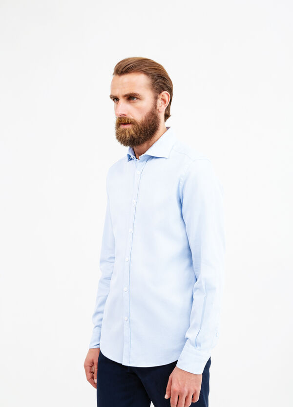 Slim fit cotton casual Rumford shirt | OVS