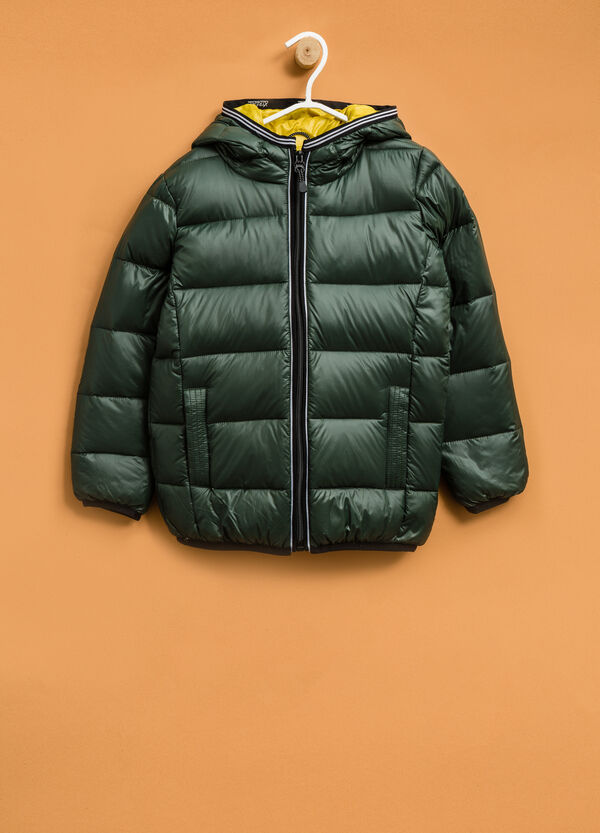 Real down jacket with hood | OVS