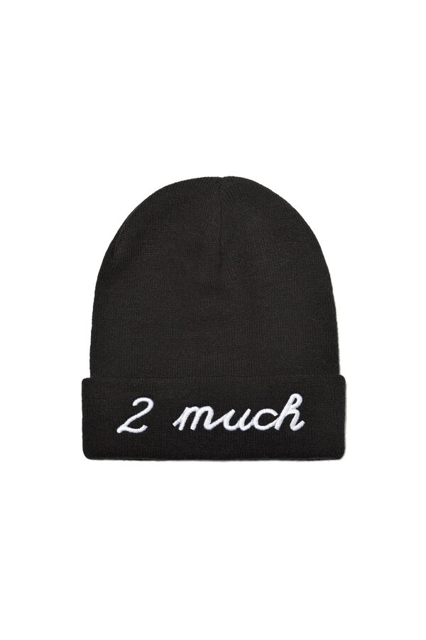 Beanie hat with embroidered lettering | OVS