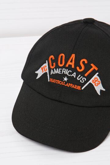 Cotton baseball cap.