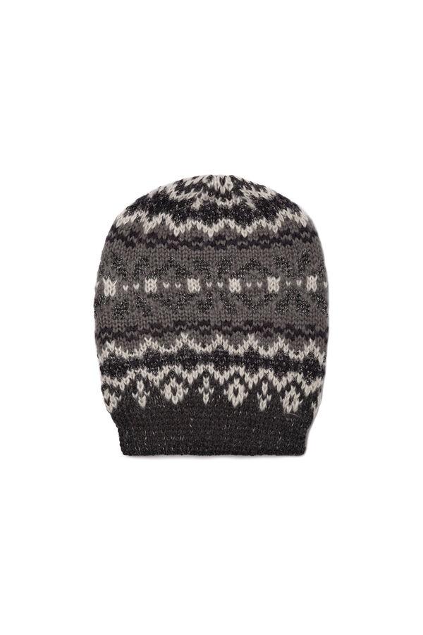Jacquard knit beanie cap | OVS